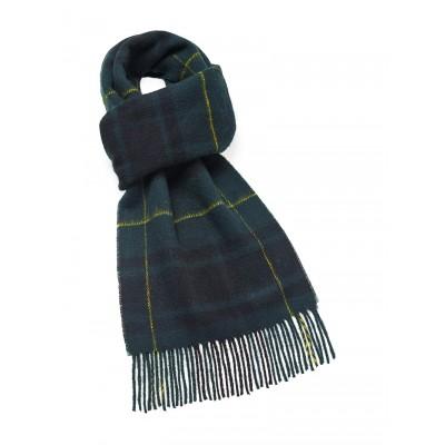 Classic merino wool scarf in Macarthur tartan
