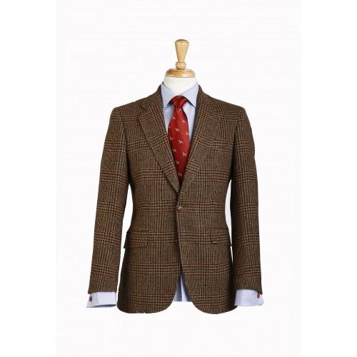 Americana de tweed guncheck de Abraham Moon & Sons