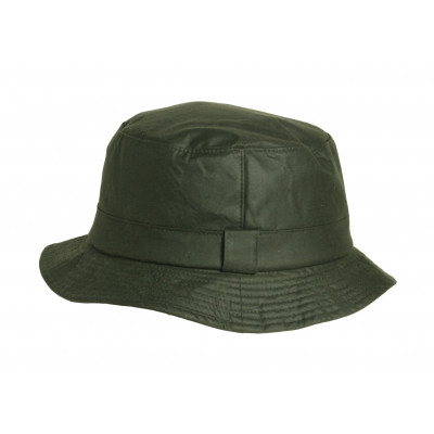 Wax Hat Green