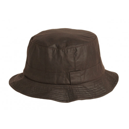 Wax Hat Brown