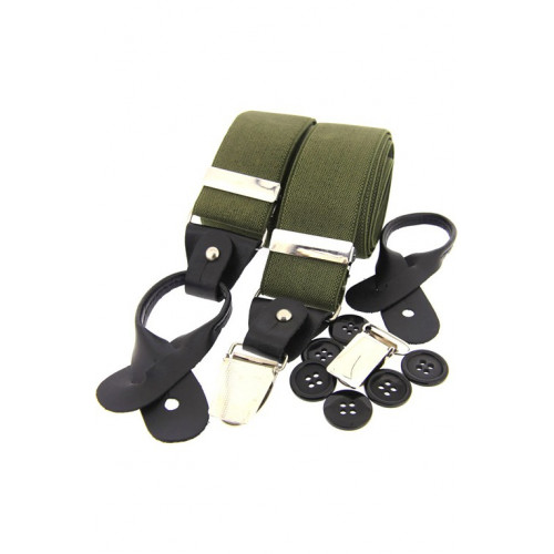 Luxury Braces Olive