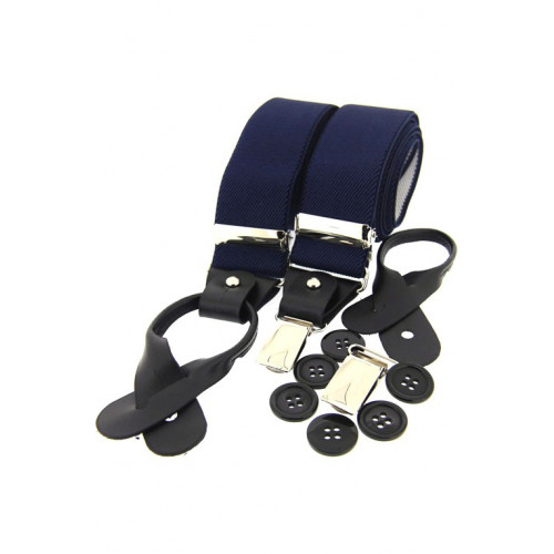 Luxury Braces Navy