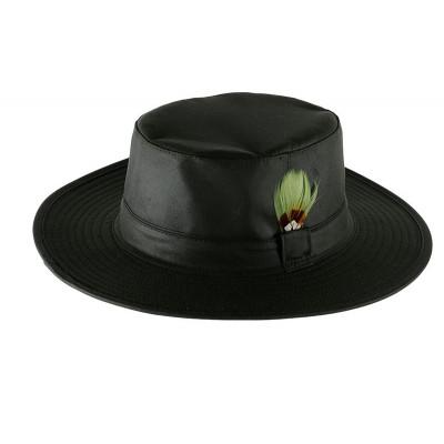 Sombrero encerado verde