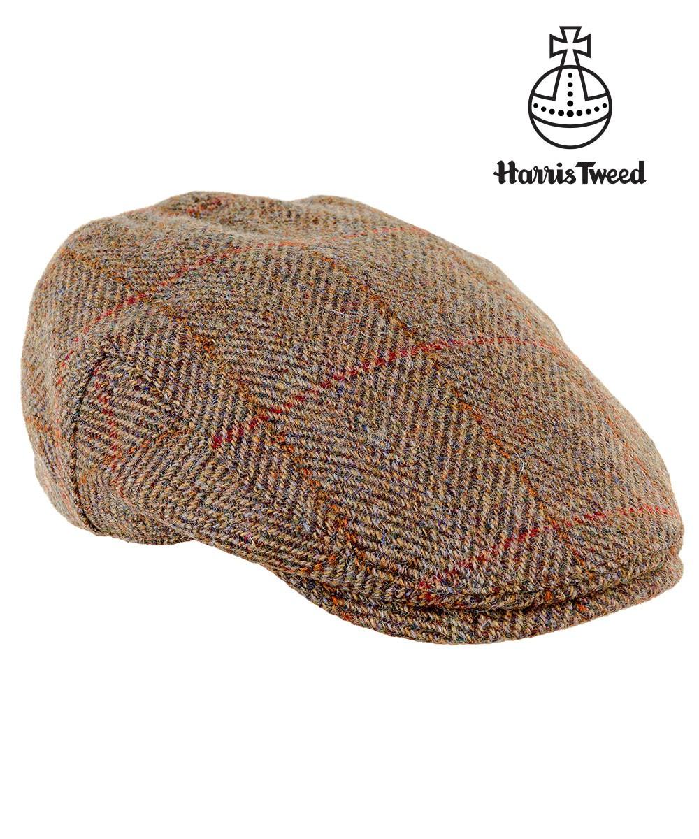 defb1ab5 Highland Harris Tweed cap