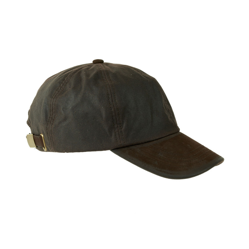 Hamilton Brown. Wax  baseball cap with nubuck peak.  One size fits all.