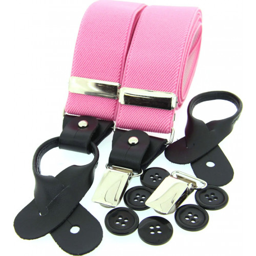 Luxury Braces Pink