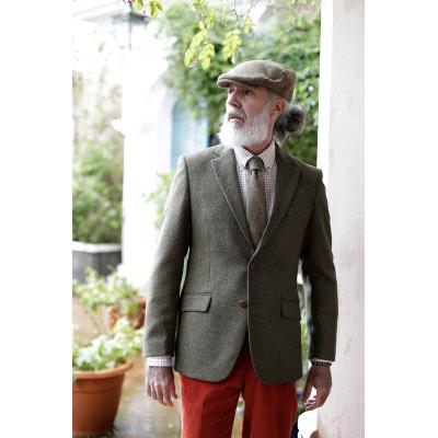 Americana de tweed británica
