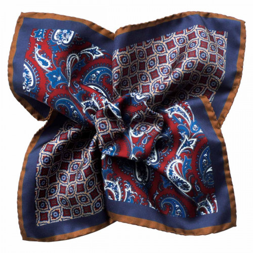 SILK POCKET SQUARE 43/9