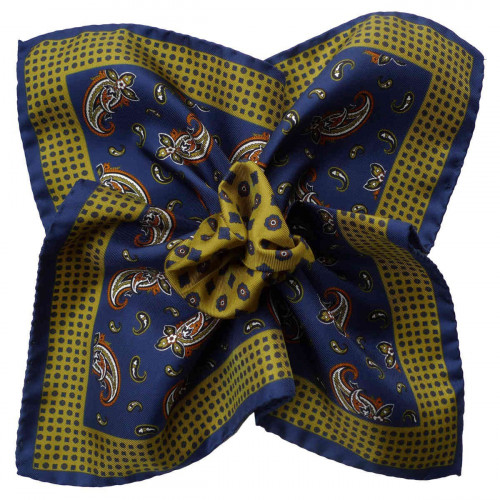 SILK POCKET SQUARE 40/16