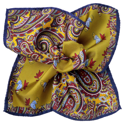 SILK POCKET SQUARE 76/5