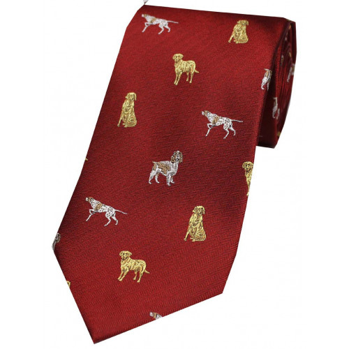 Woven Silk Tie WC09456