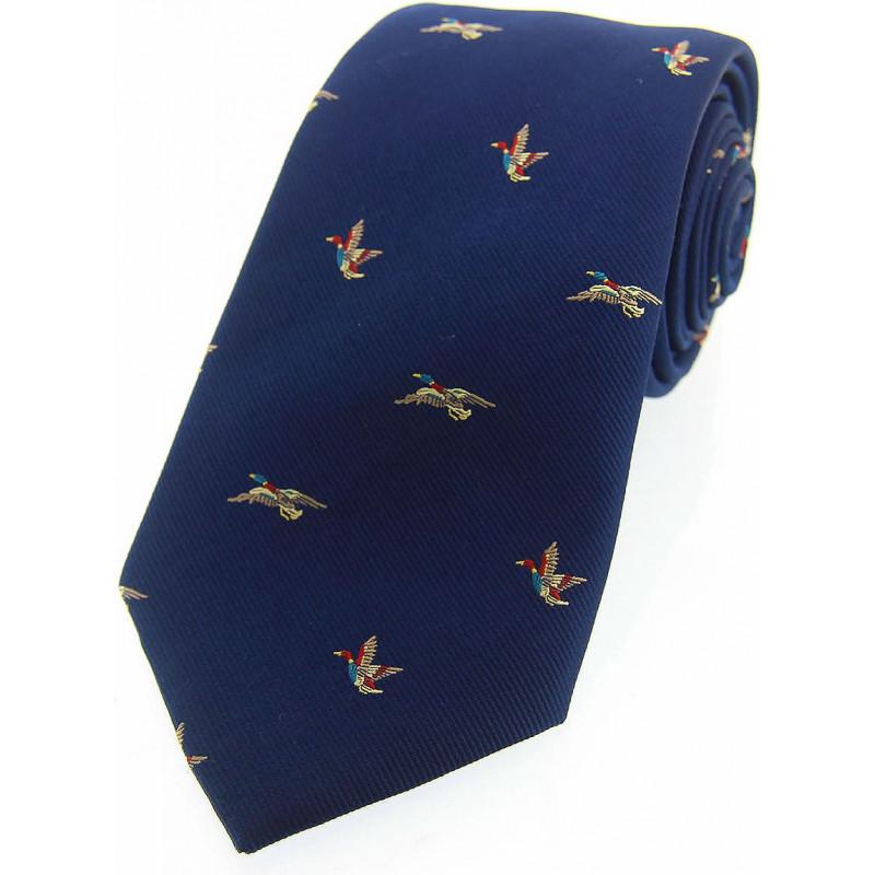 Corbata Seda Patos