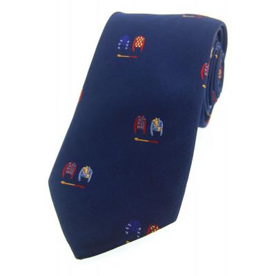 Woven Silk Tie Racing Colours