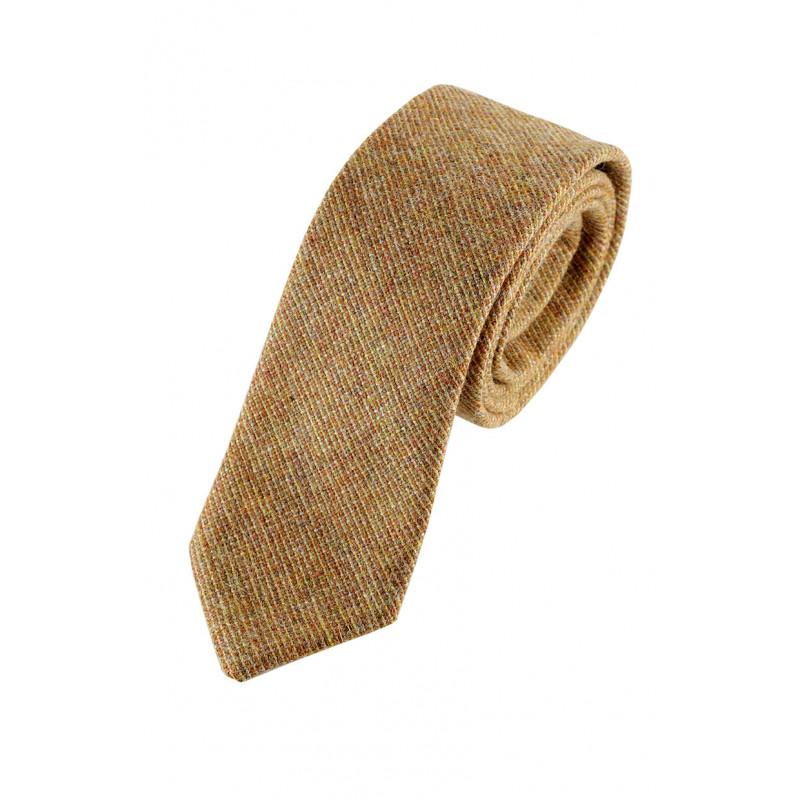 Corbata lana w22. 100% lambswool escocesa.